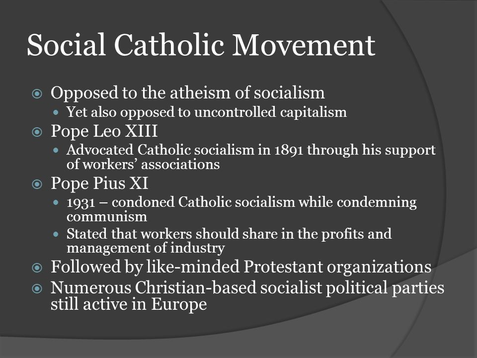 Social Catholic Movement