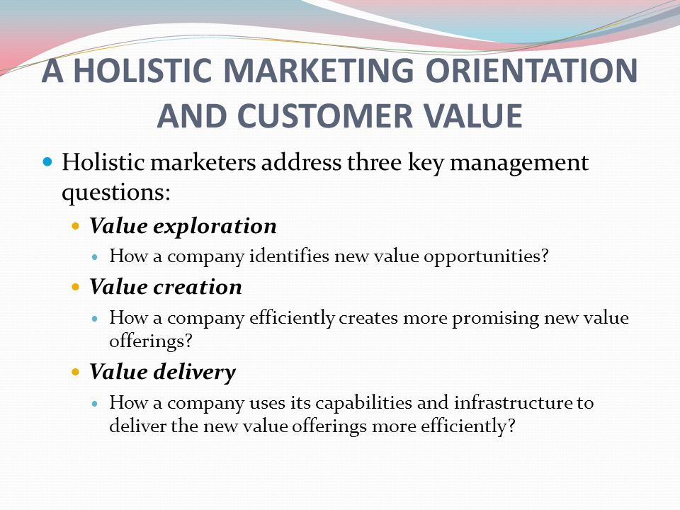 marketing management and market orientation Managerial ties, market orientation, and export performance: chinese firms  experience - volume 13  industrial marketing management, 40 (4): 522–533.