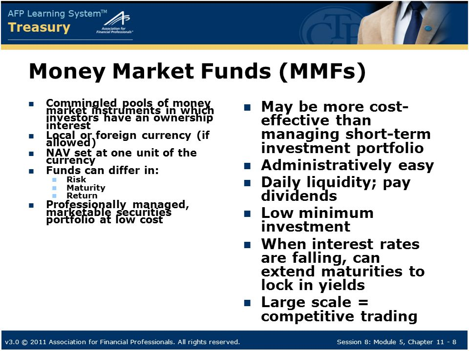 chapter 8 the money markets Ssjxx - state street institutional treasury money market fund (institutional  class) | ssga global cash  us treasury bill, 18540%, 8/23/2018, 449.