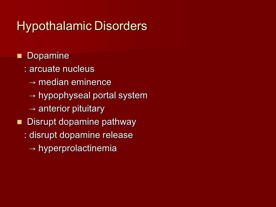 Hypothalamic Disorders