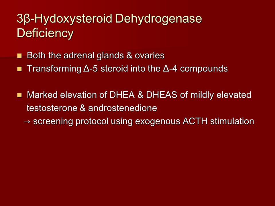 3β-Hydoxysteroid Dehydrogenase Deficiency