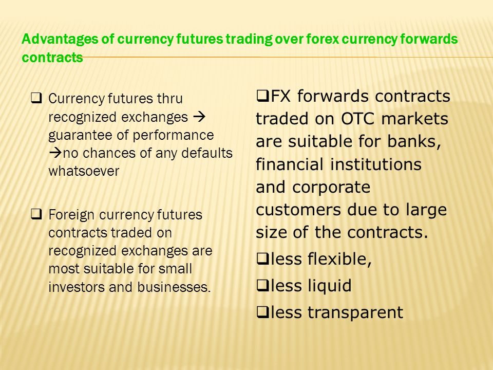 Forex forward contract calculation
