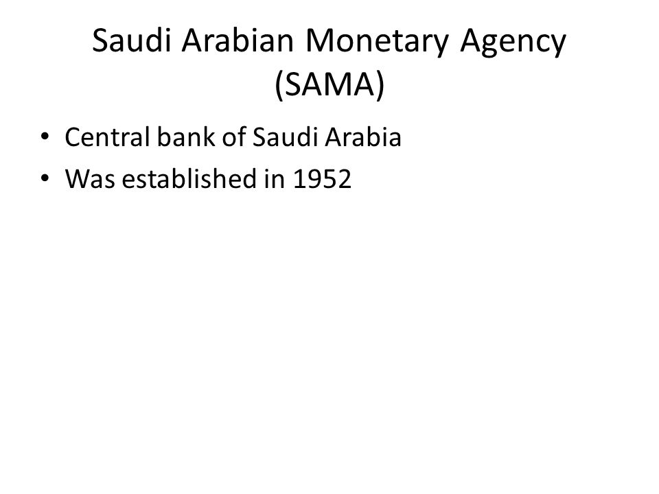 case analysis of saudi arabian monetary Accounting professionalization and the state: saudi arabian monetary agency established: the saudi case contrasts with the kenyan experience in that overt.