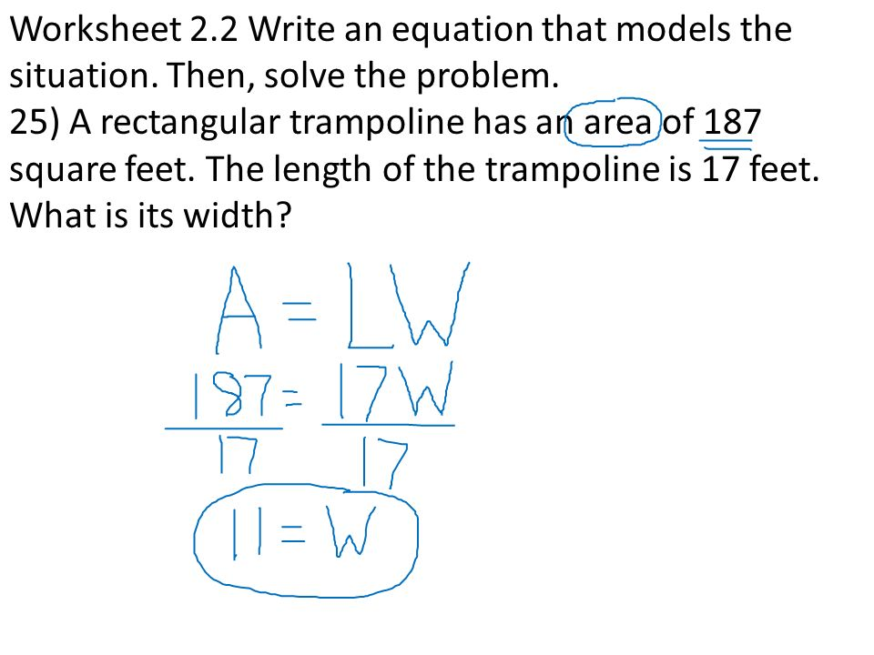 Equations Word Problems ppt video online download – Writing Equations from Word Problems Worksheet