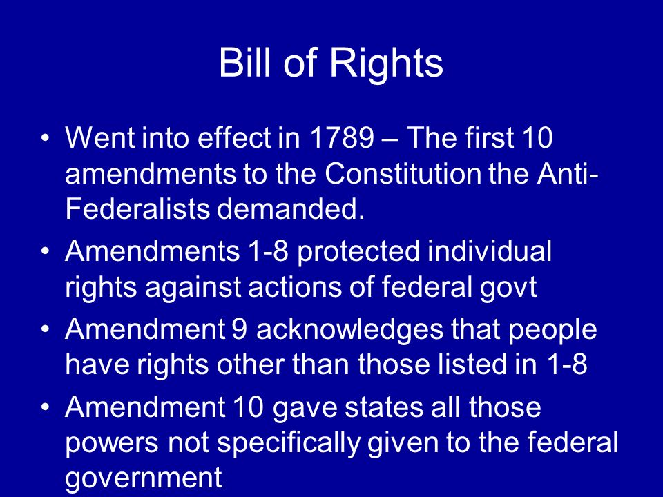 The first amendment and its impact