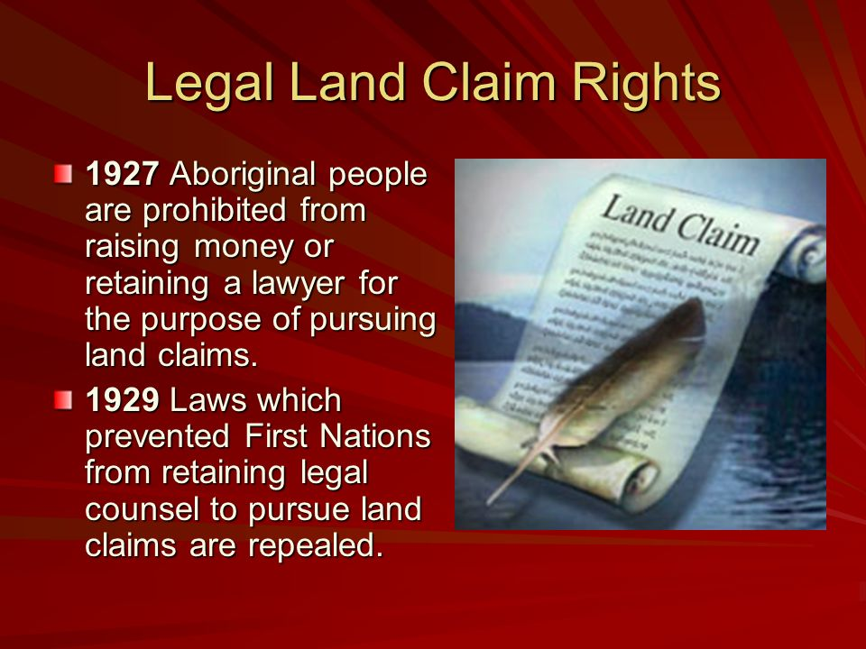 first nations land claim newspaper article