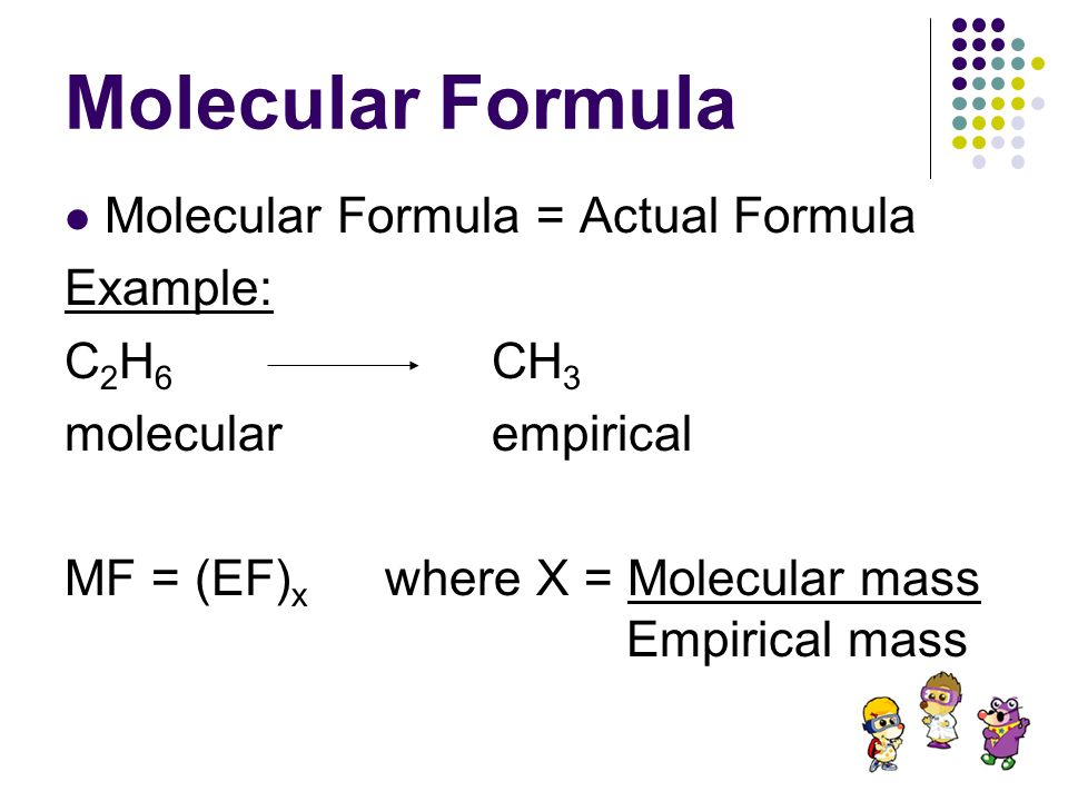 Math with Chemical Formulas - ppt download