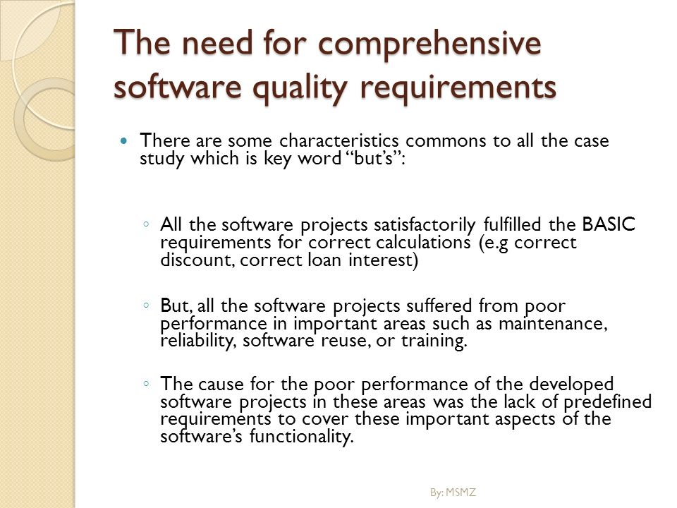 need and importance of software requirements The what, why, who, when and how of software requirements linda westfall president the westfall team 3000 custer road, suite 270, pmb 101 plano, tx 75075.