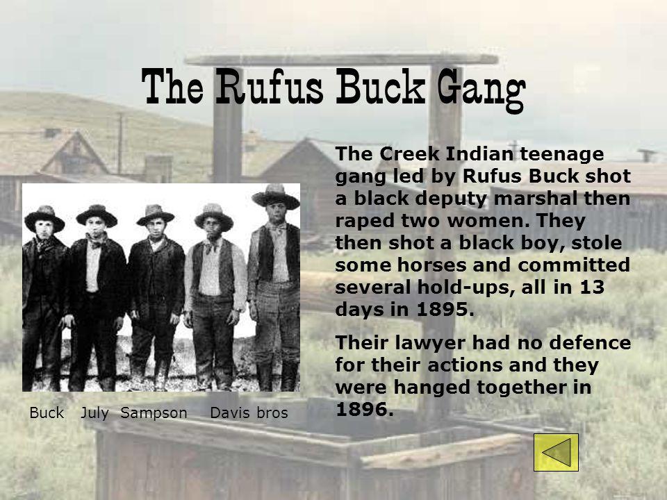 The Rufus Buck Gang