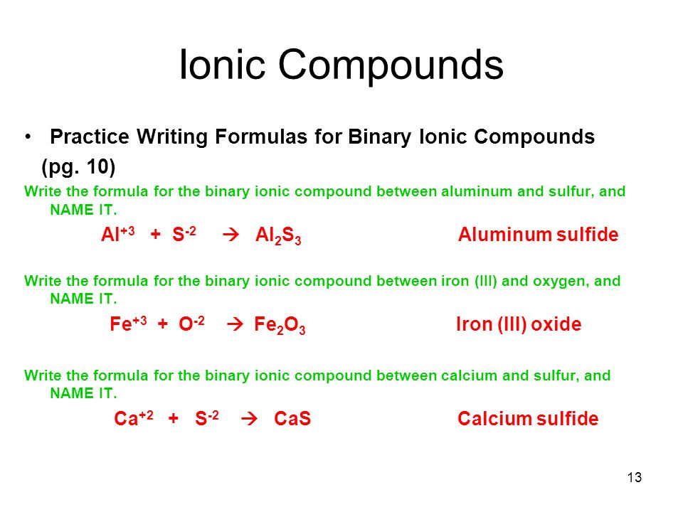 Writing Formulas For Ionic Compounds Practice Research Paper Service