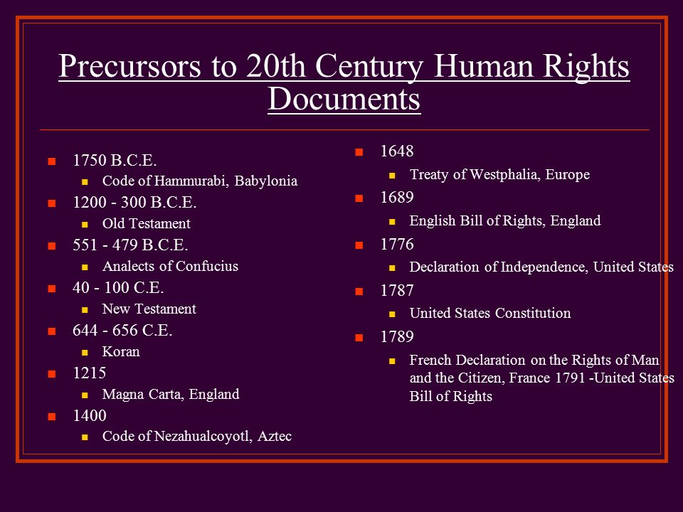 a comparison of the bill of rights of france and that of the united states Delaware copy of the united states bill of rights  of the rights of man and the  citizen of 1789 in france, and the bill of rights in the  but citizens in britain are,  compared with many others, rarely subject to abuses of their.