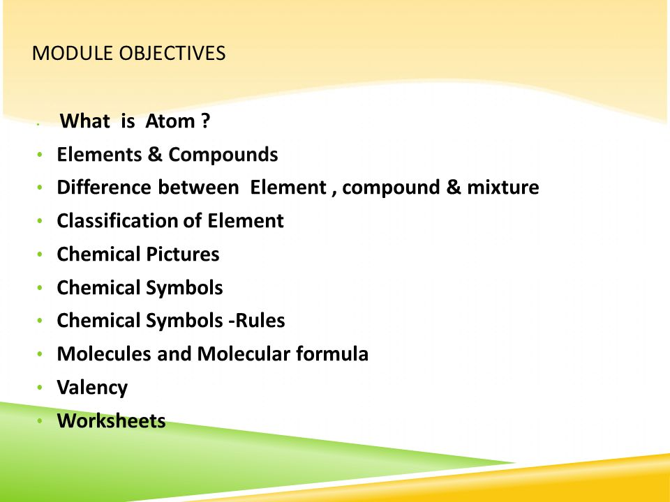 Elements and Compounds ppt download – Atoms and Molecules Worksheet