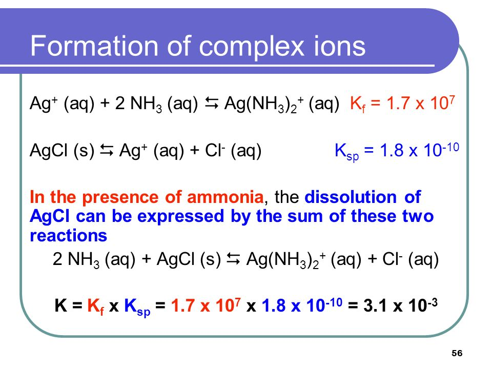 Chapter 18 Solubility and Complex-Ion Equilibria - ppt video ...