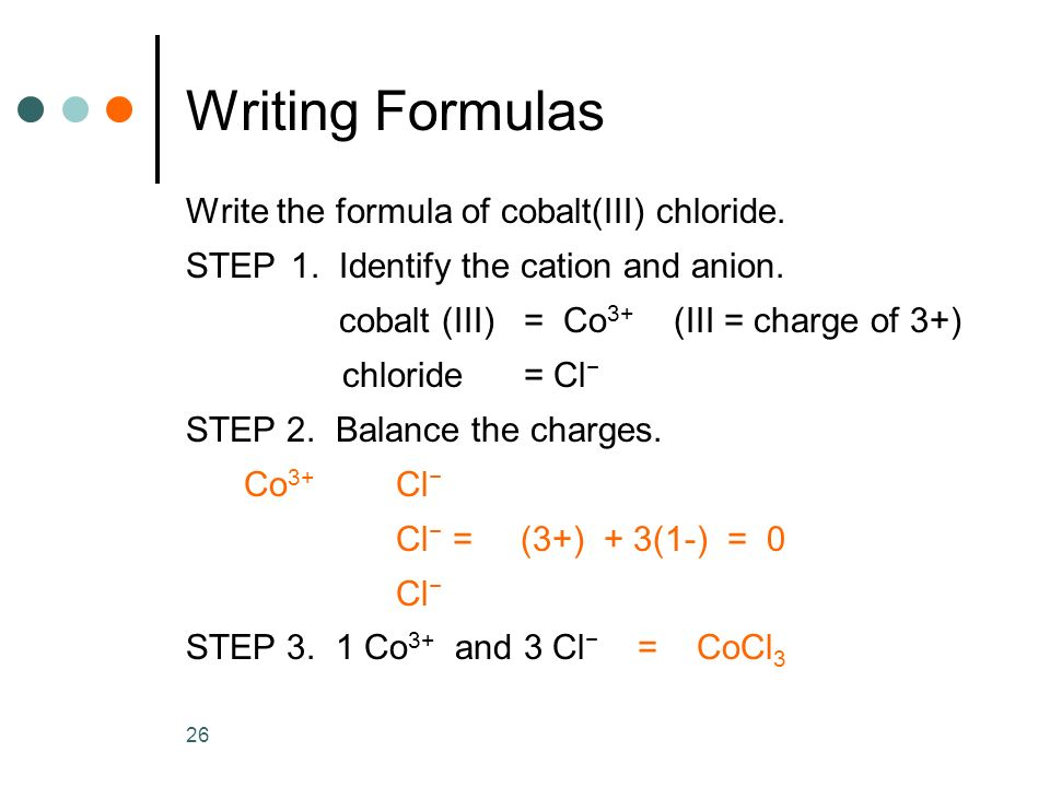 how to write formulas on powerpoint