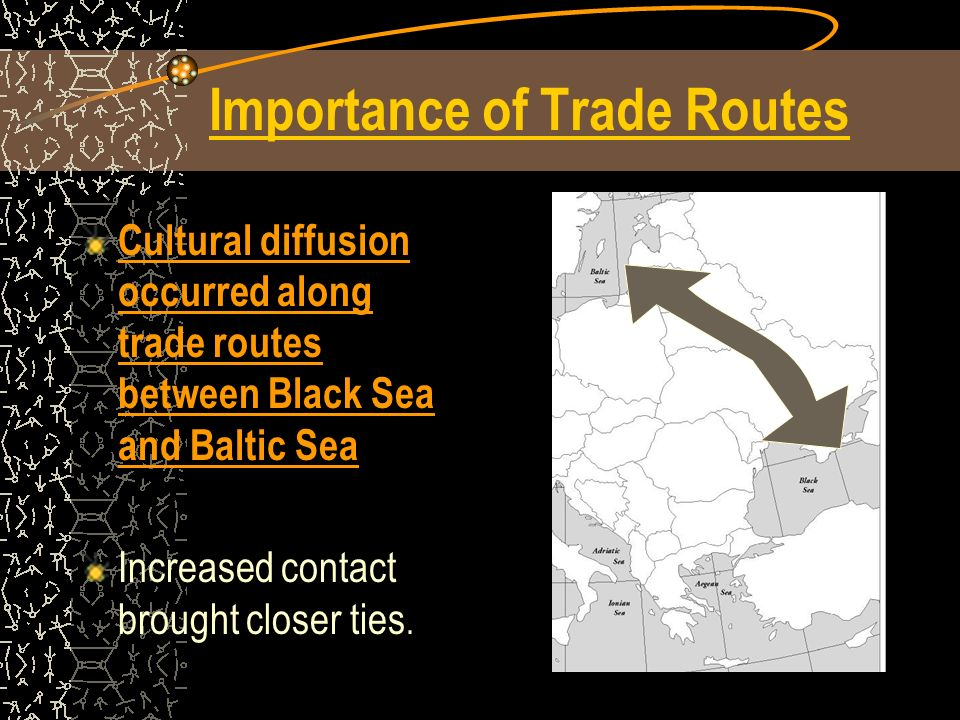 Importance of Trade Routes