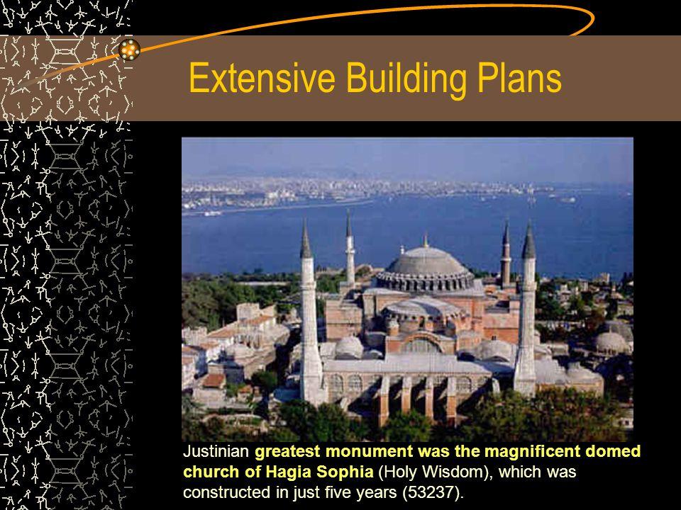 Extensive Building Plans