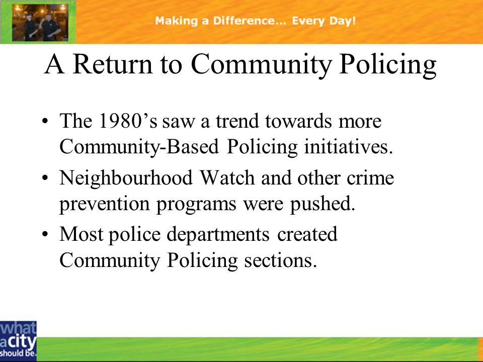 community crime prevention programs essay Index page for canada's national crime prevention centre, including links to information on its funding programs, evaluation activities, library and the national crime prevention strategy.