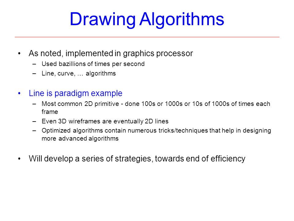 "Line Drawing Algorithm In C Language : Cg algorithms and implementation ""from vertices to"