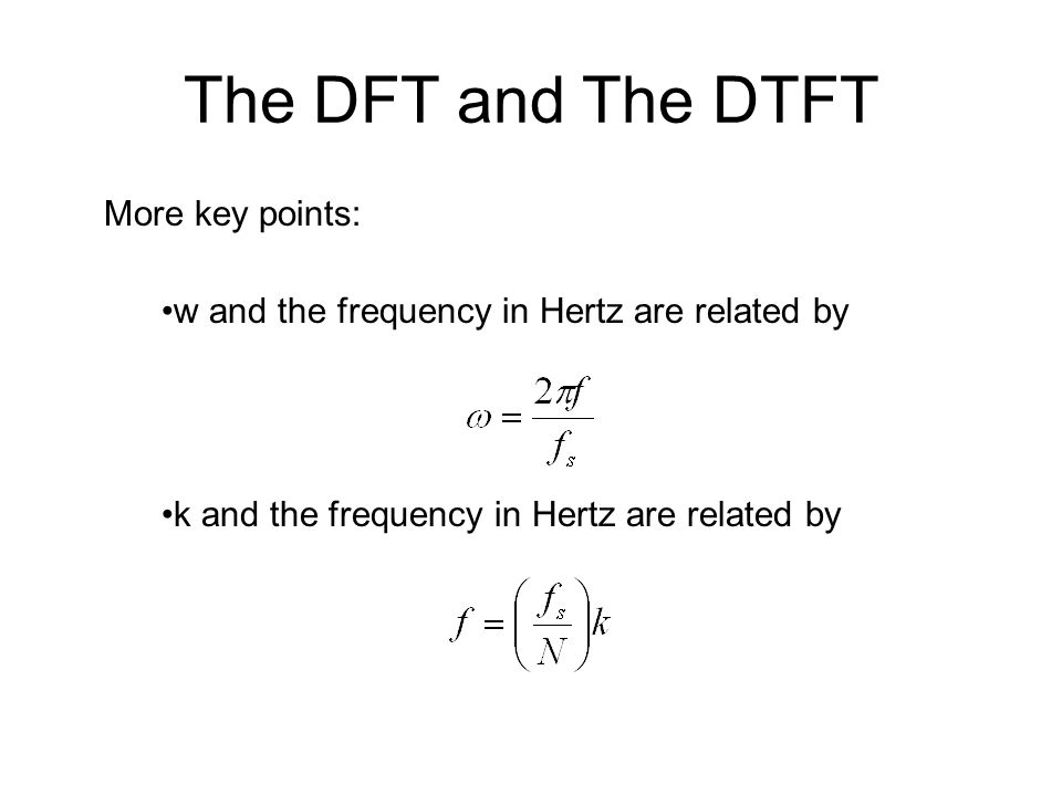 relationship dft and dtft pdf