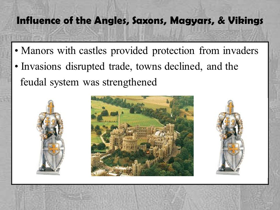 Influence of the Angles, Saxons, Magyars, & Vikings