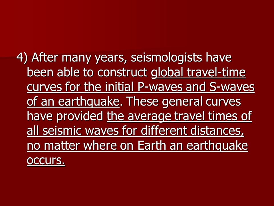 Guided Notes for Seismic Waves and Earths Interior ppt download – Earthquake P-wave and S-wave Travel Time Worksheet