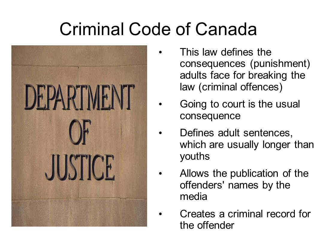 an analysis of the youth offenders act in canada The juvenile offender act: effectiveness and the 1978 juvenile offender act the policy of differentiating between the child and the adult new york's juvenile offender law: an overview and analysis, 9 fordham urb l j 1, 4-5 (1980.