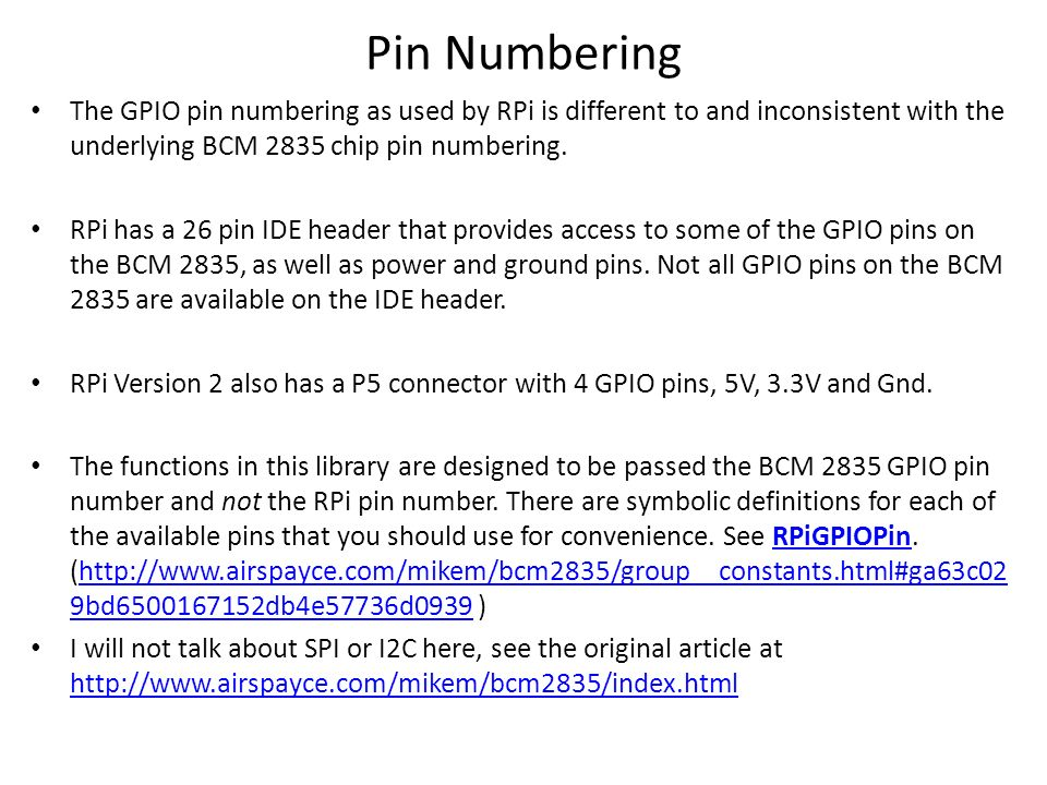 Eee305 microcontroller systems ppt video online download 7 pin numbering the gpio greentooth Image collections