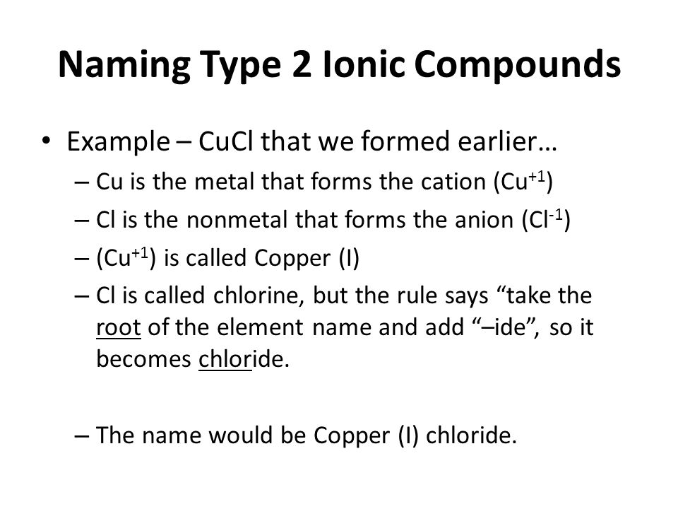 Type 1 Binary Ionic Compounds Worksheet Answers Proga Info