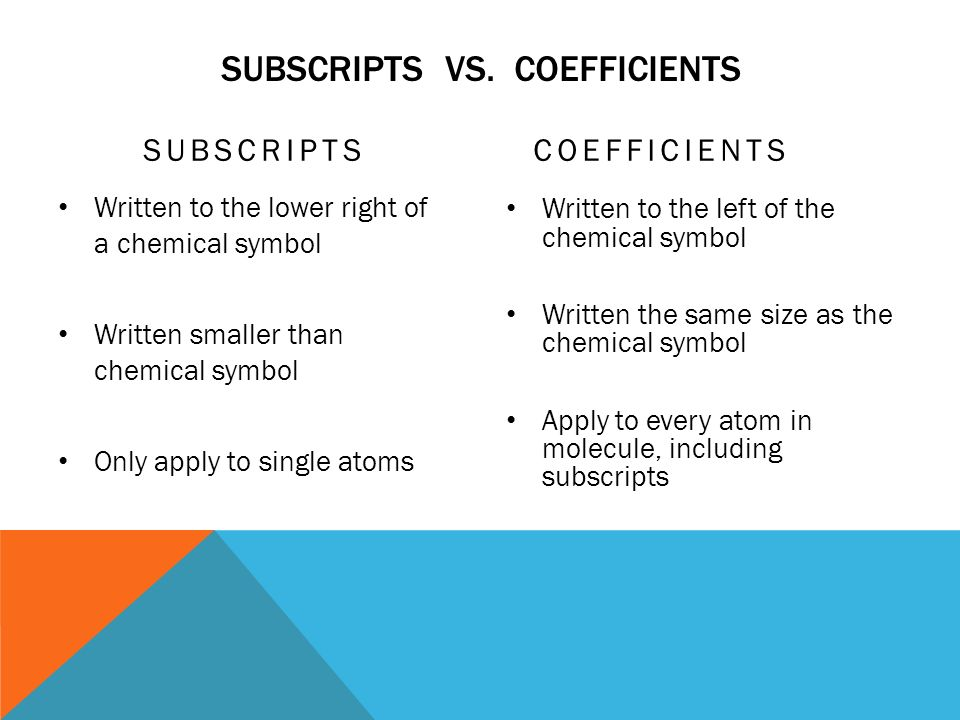 the use of superscripts and subscripts in algebra and chemistry How to write subscripts in microsoft office formulas in the upper left of the screen before attempting to use the shortcut keys for subscripts chemistry.