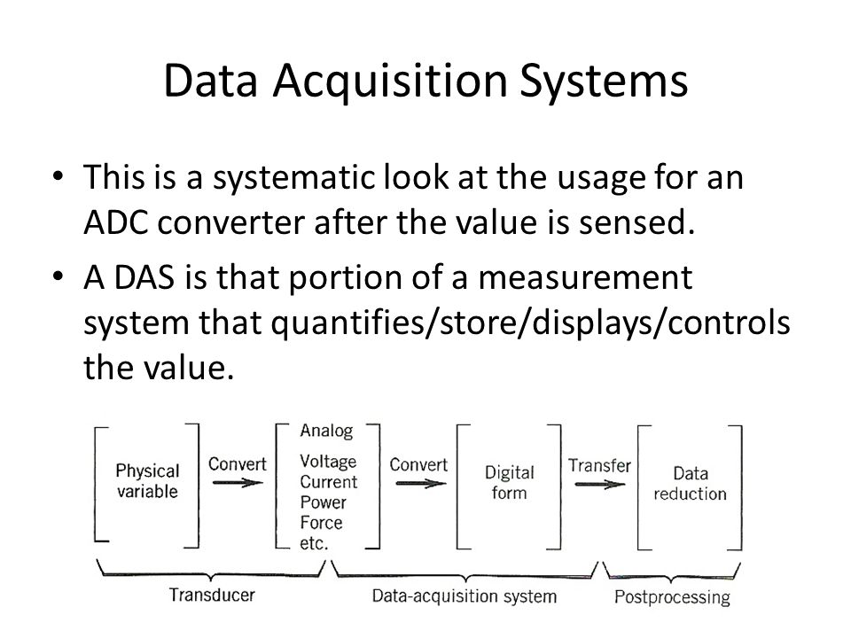 Das Data Acquisition System : Notes data acquisition system das best free home