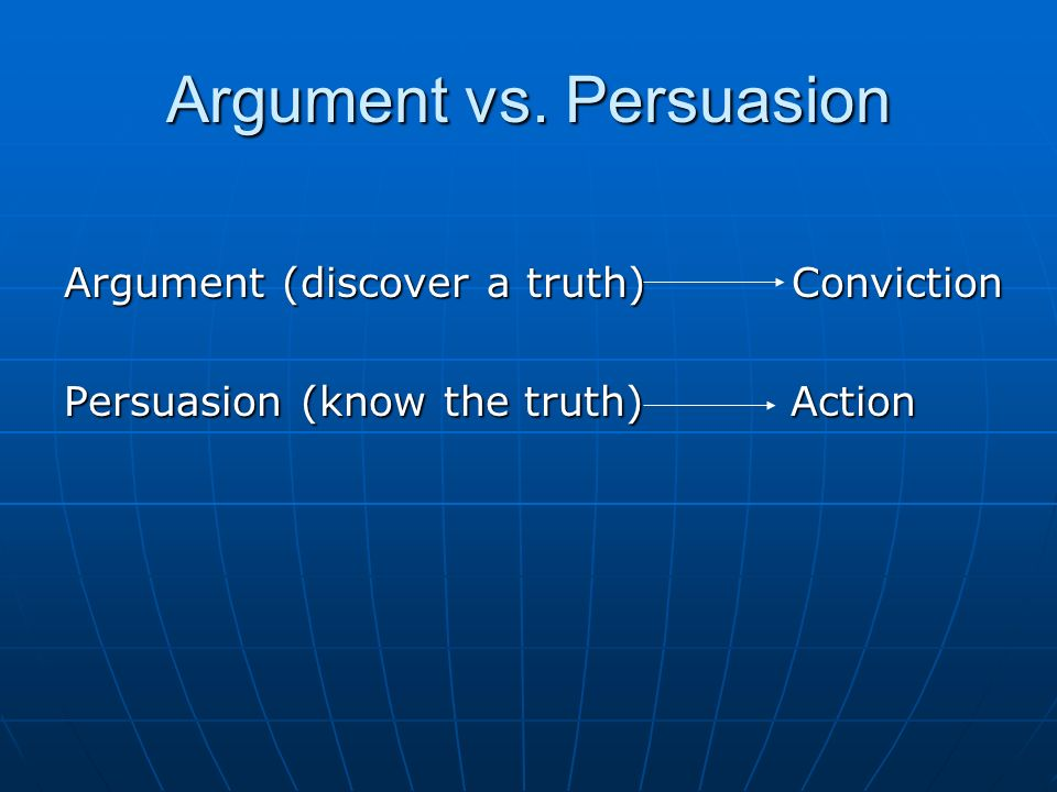 argument persuassion essay Many students often ask whether there is a difference between argumentative  essay vs persuasive essay the answer is yes here are three.