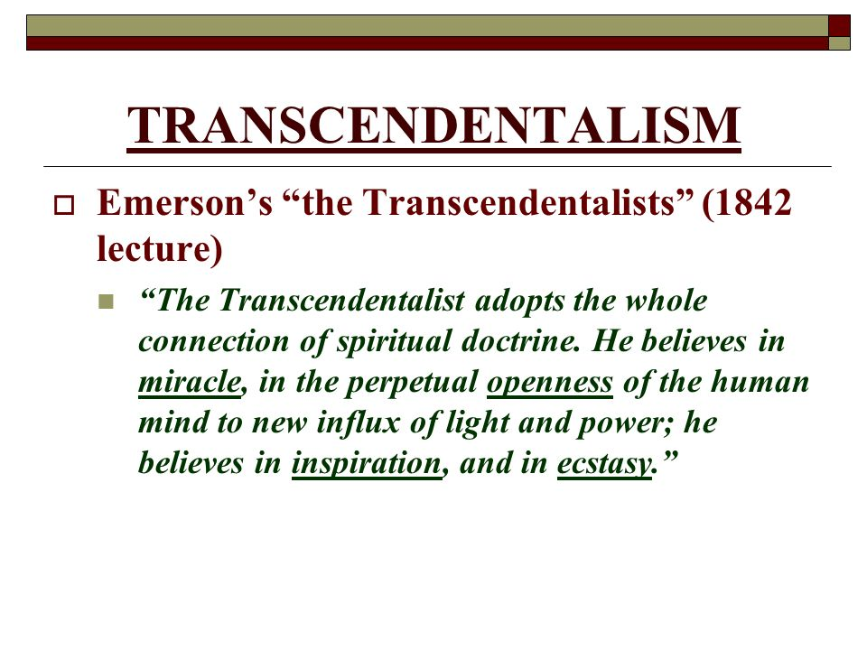 transcendentalism human and american scholar People like ralph waldo emerson  the motivation of ralph waldo emerson in the speech the american scholar  transcendentalism and ralph waldo emerson .