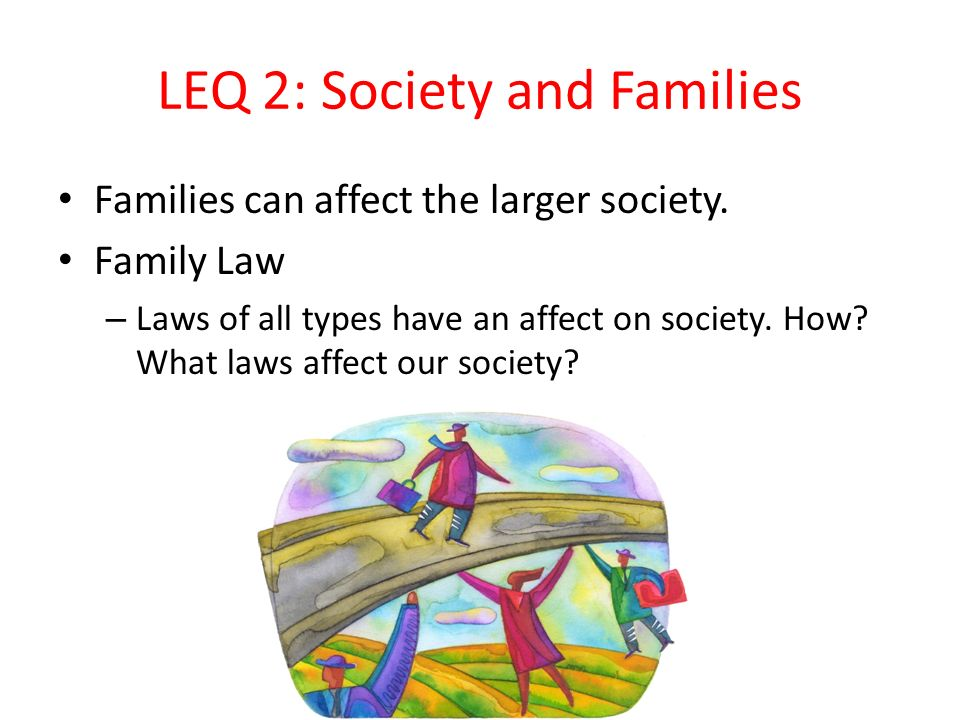 LEQ 2: Society and Families