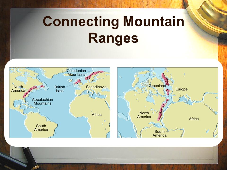 Connecting Mountain Ranges