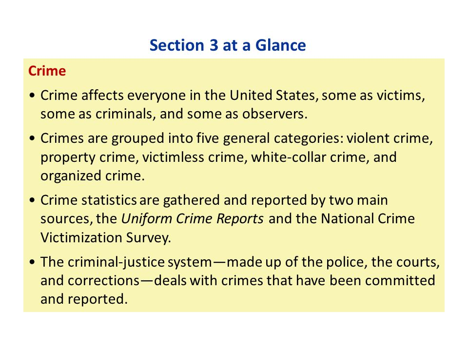 the three major crime reporting systems There are two major sources of crime statistics commonly used in the united states: the uniform crime report (ucr) and the national incident-based reporting system.
