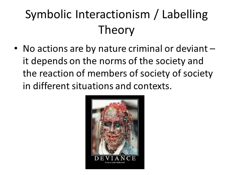 Symbolic Interactionism Theory On Poverty