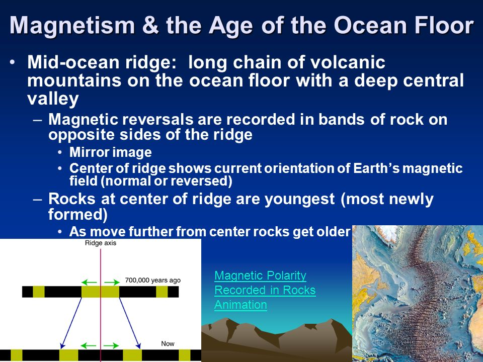 magnetic reversal mid ocean ridges - photo #41