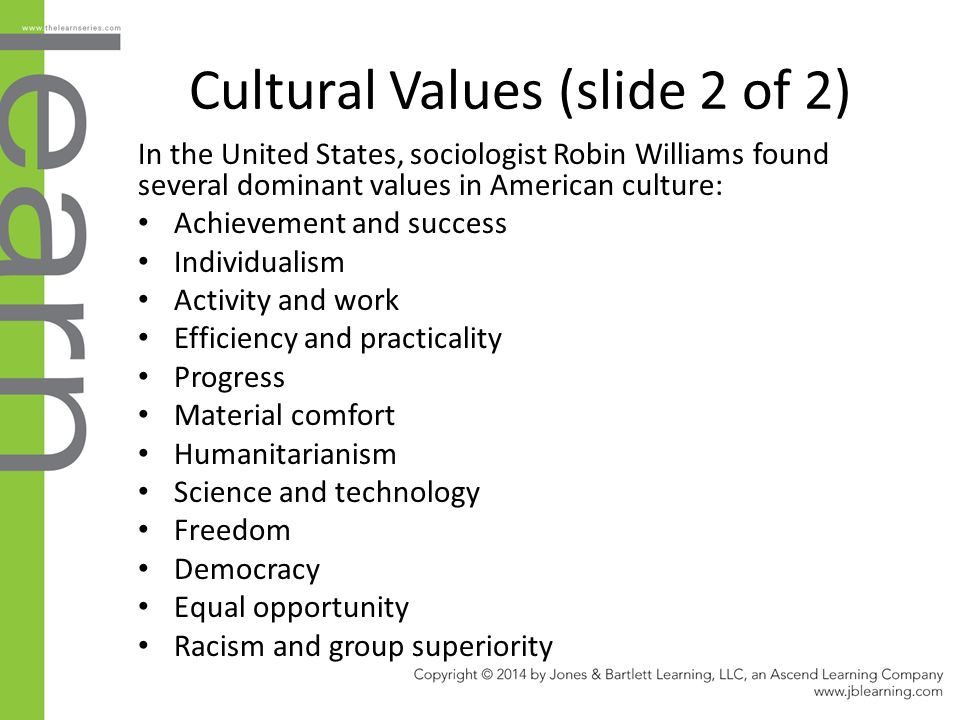 dominant values in the workplace What are the dominant cultural values in us society how do we see intersectionality at work in the articles we have read and/or in goffman's ethnography.