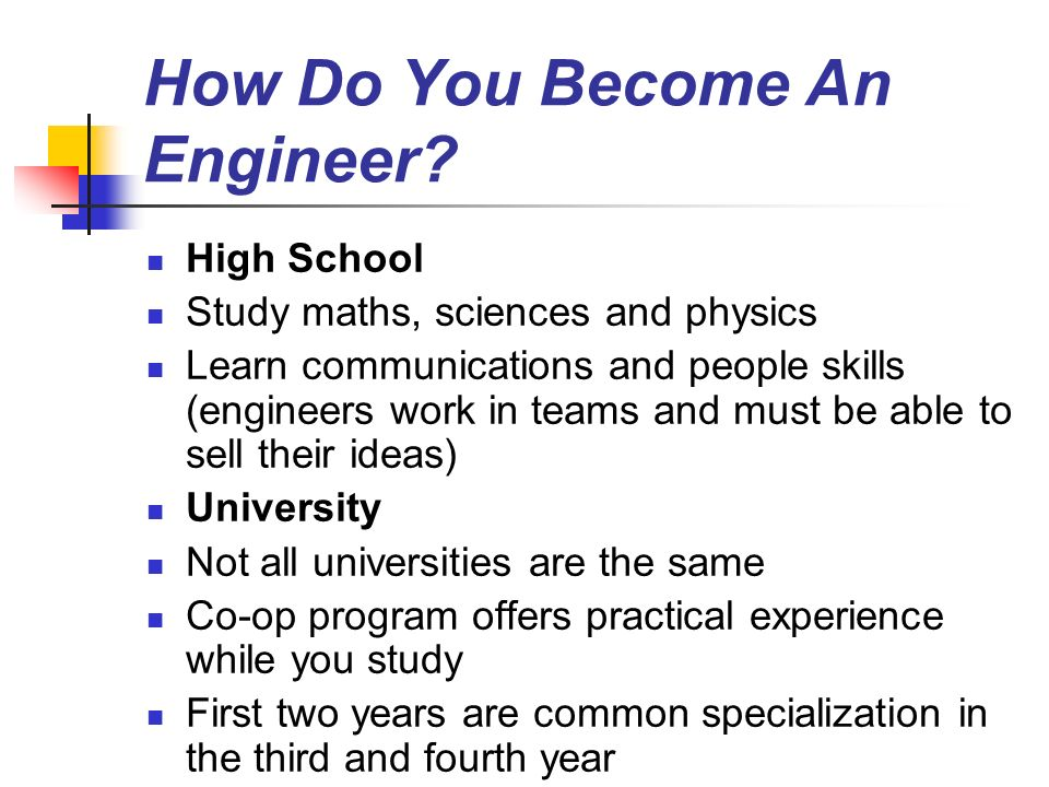 how to become it engineer