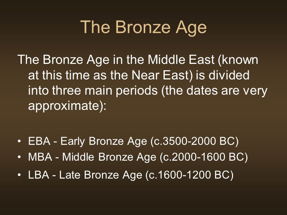 metals in the bronze age essay The discovery of metals such as, the stone age, bronze age and iron age the discovery of bronze (an alloy of copper and tin.