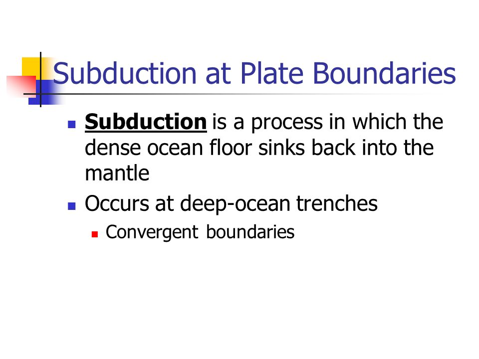 Continental drift the beginning of plate tectonics ppt for How does subduction change the ocean floor