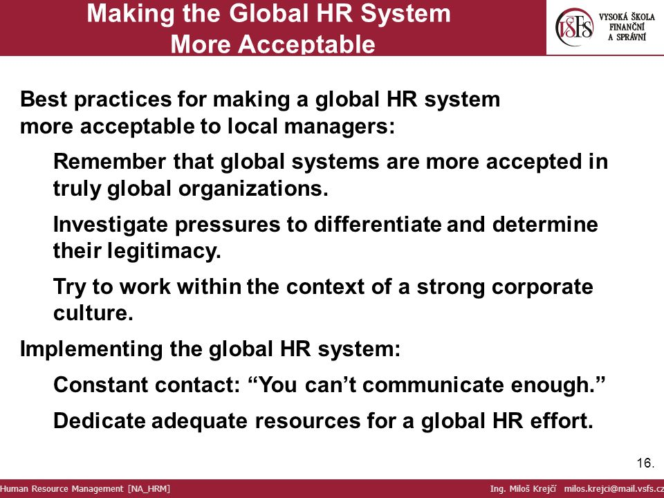 human resource management in a global context pdf