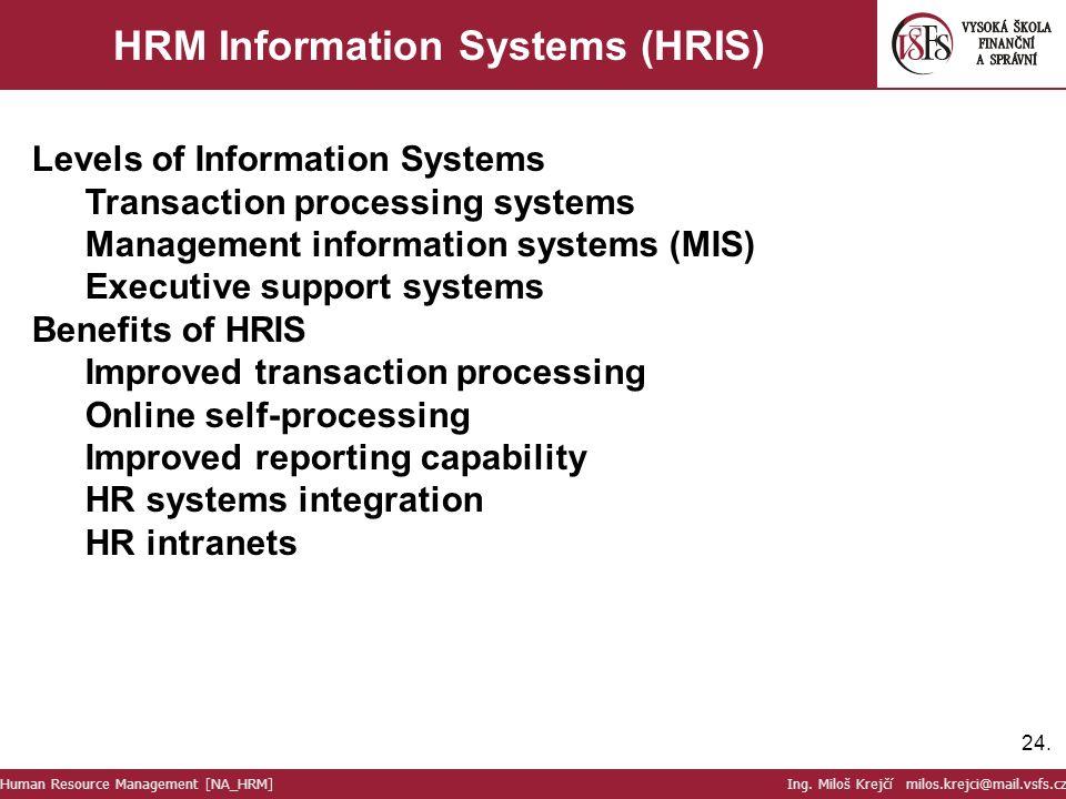 benefits of integrating human resources management