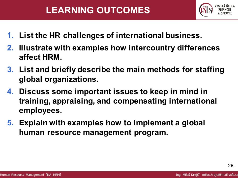 hr challenges of international business One of the challenges that international businesses  to be addressed by an international business  basic-hr-issues-addressed-international-business.