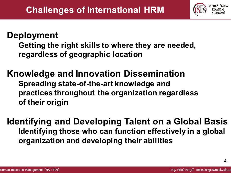 5 Primary Functions of Human Resource Management