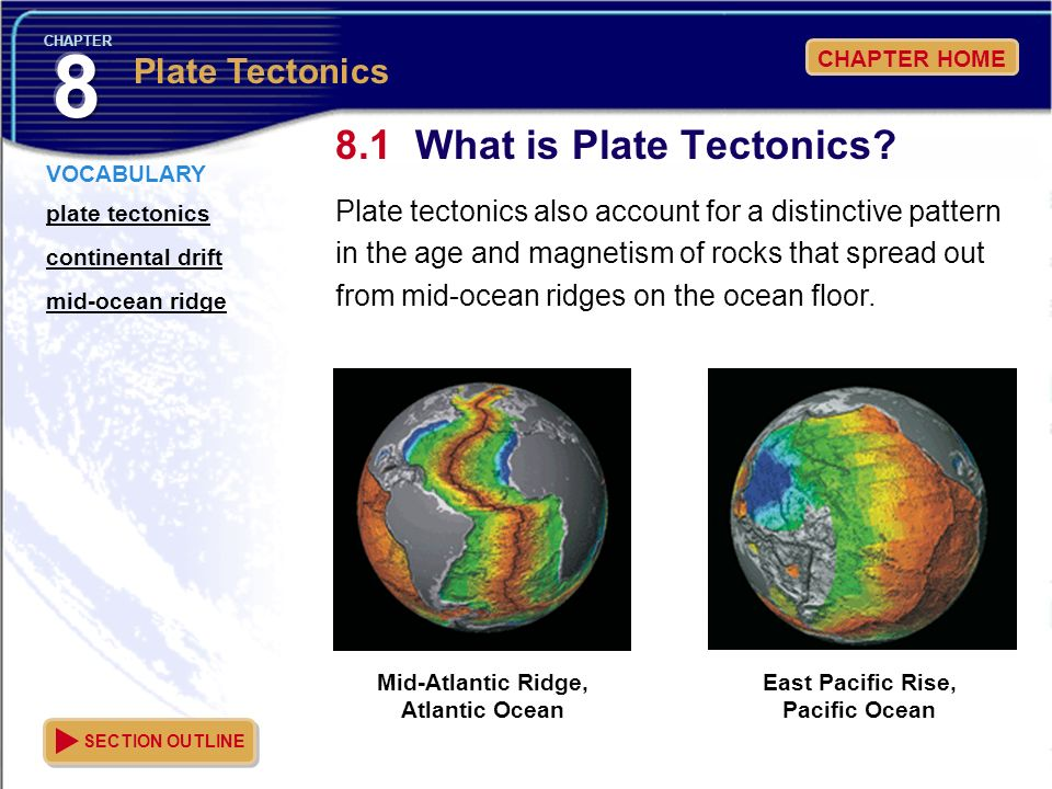 8.1 What is Plate Tectonics