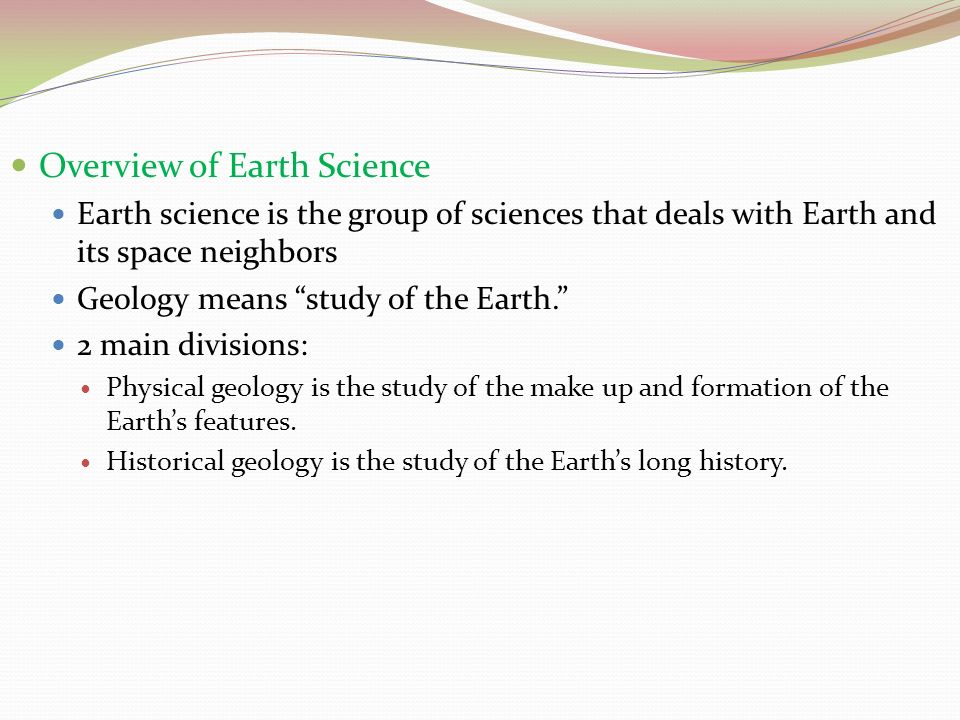 introduction to earth science ppt video online download. Black Bedroom Furniture Sets. Home Design Ideas