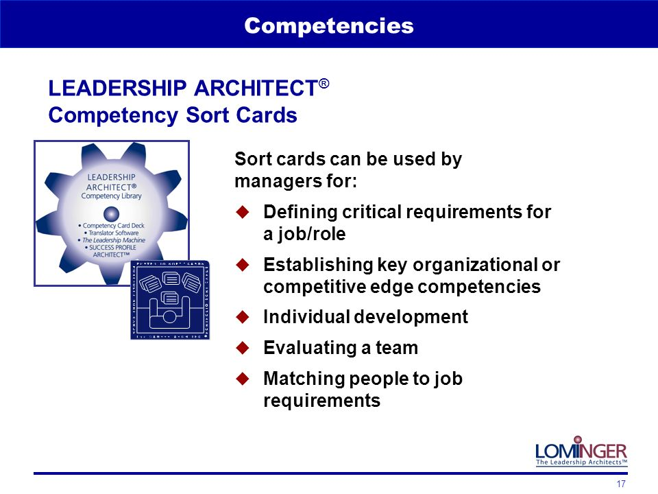 leadership competencies for implementin Here are ten critical leadership competencies which companies are looking for in today's workplace 1 visionary leaders  managing and implementing change.