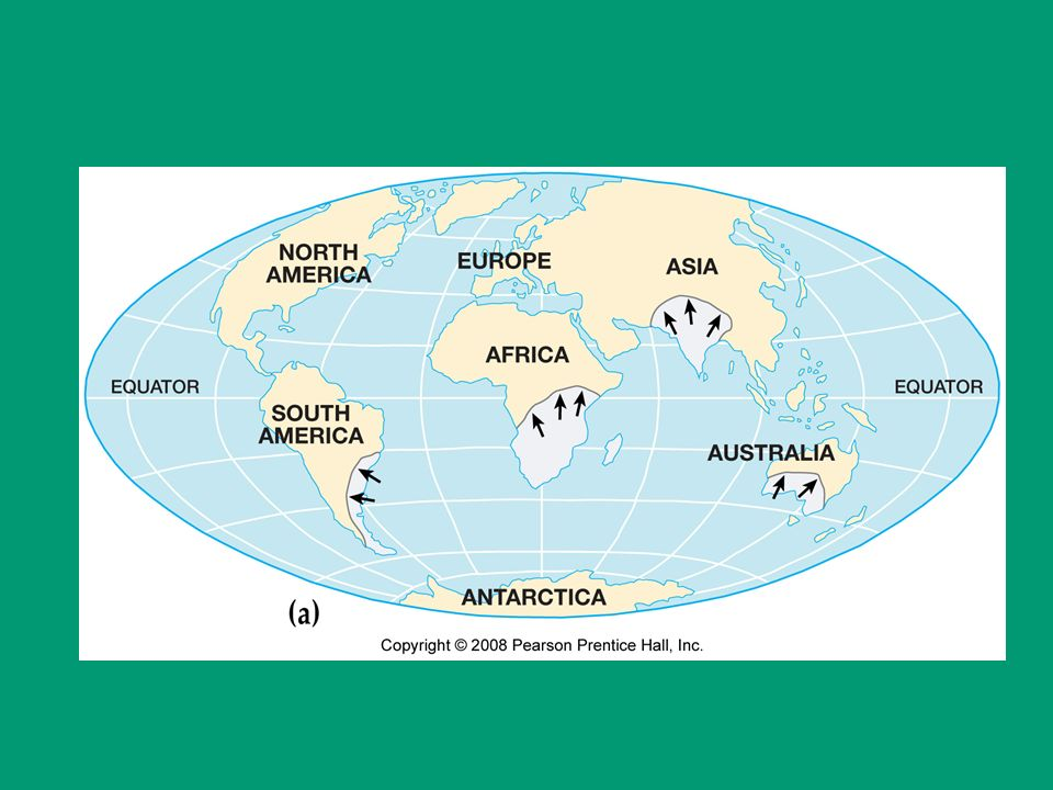 a comparison of continental drift and the odyssey Continental drift is the movement of the earth's continents relative to each other, thus appearing to drift across the ocean bed the speculation that.