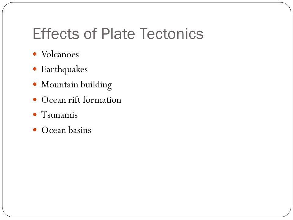 plate tectonics essay questions